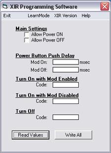 XIR Remote - XIR Beta